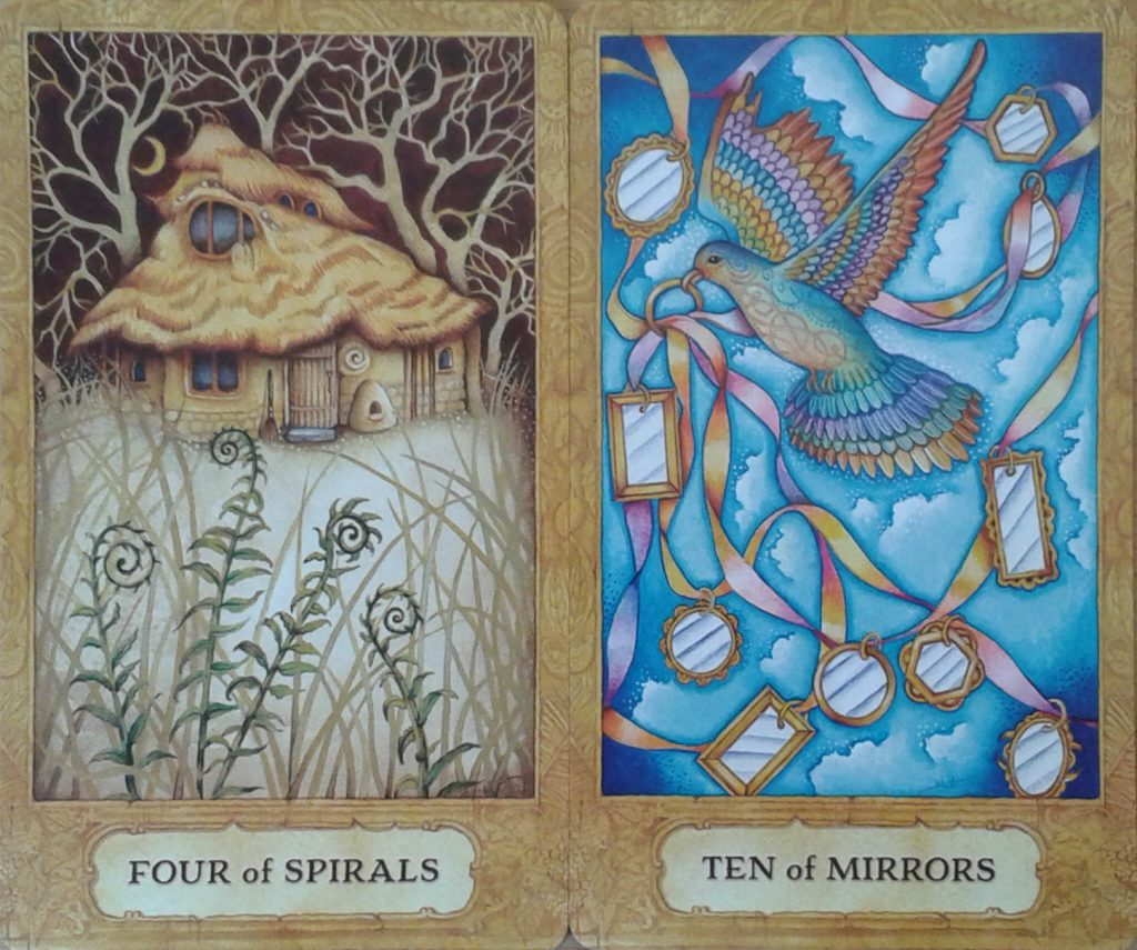 Chrysalis Four Spirals-Ten Mirrors