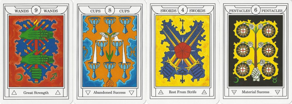 The second of the tarot lineages is Golden Dawn or esoteric decks. Readers apply qabalistic and astrological correspondences to understand these decks.