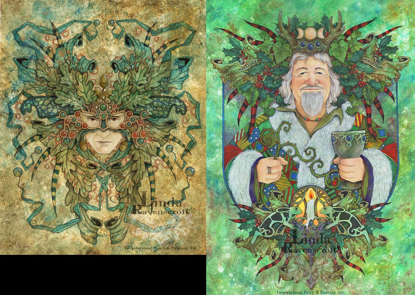 Cards by Linda Ravenscroft