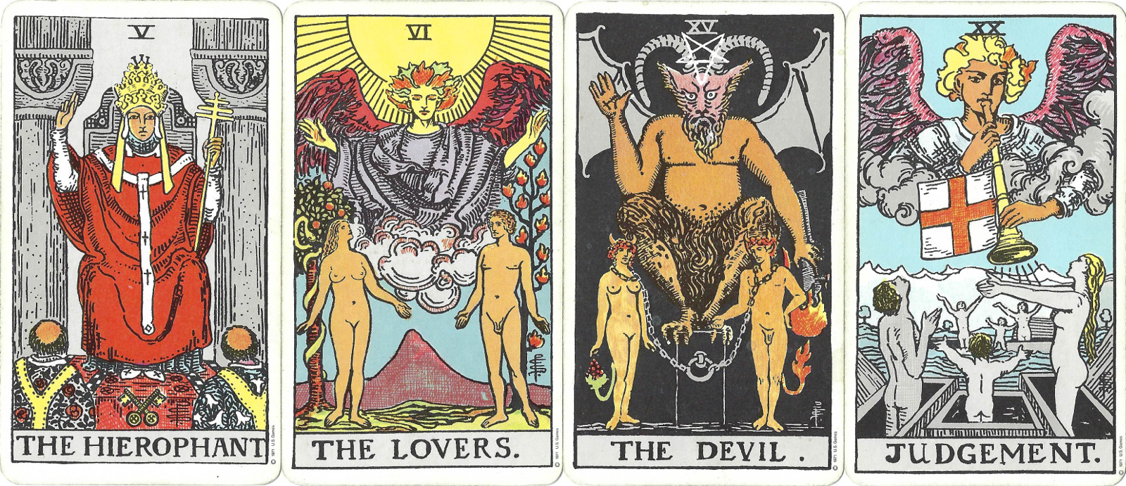Examples of Religious Symbolism in Tarot Cards