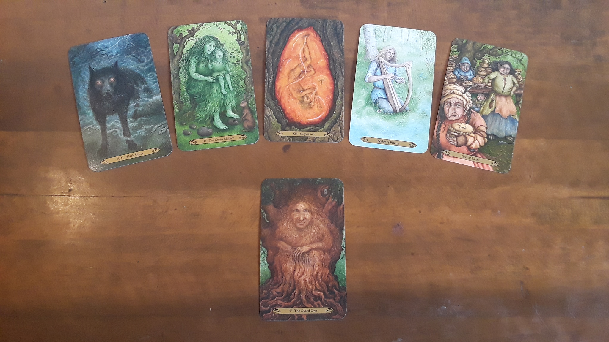 "The ""Earned Success Tarot Spread"" takes us into the dark forest so that we can come out again seeing a catch-22 situation in a new light."