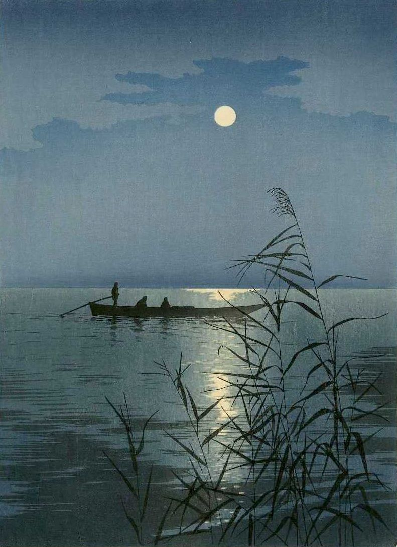 A fishing boat on a moonlit sea becomes the inspiration for the Earned Success tarot spread.