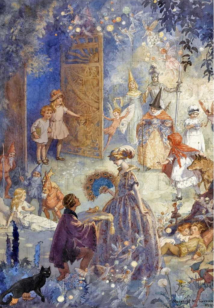 "Margaret W. Tarrant, ""Gates of Fairyland,"" 1922"